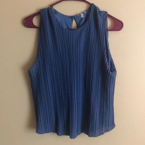 Pleated Buckle top